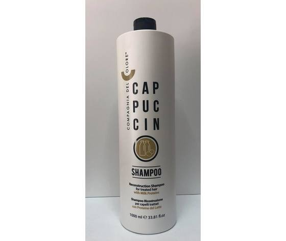 Compagnia del Colore - Cappuccino Shampoo Ricostruzione per Capelli Trattati 1000 ml