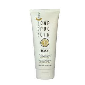 Compagnia del Colore - Cappuccino Mask Ricostruzione per Capelli Trattati 400 ml