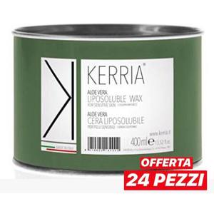 Kerria - Cera Liposolubile Aloe Vera 400 ml 24 pz
