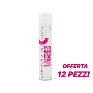 Compagnia del Colore - Rock Hard Hair Spray 500 ml 12 pz