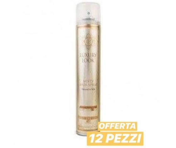 Luxury Look - Misty Hair Spray 500 ml 12 pz