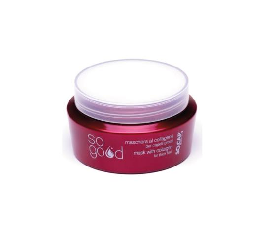 Socap - Maschera al Collagene per Capelli Grossi Sogood 250 ml