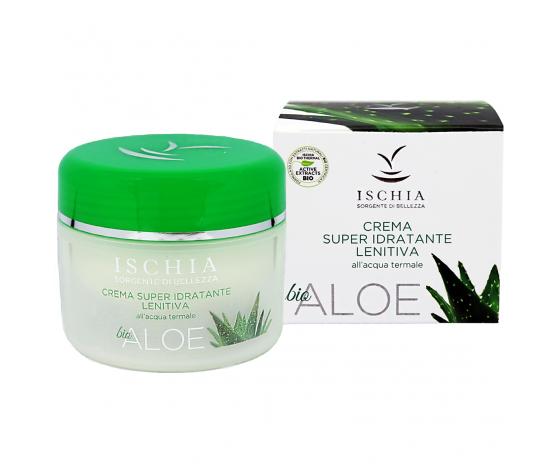 Ischia Sorgente di Bellezza - Crema super idratante lenitiva Aloe Bio 100 ml