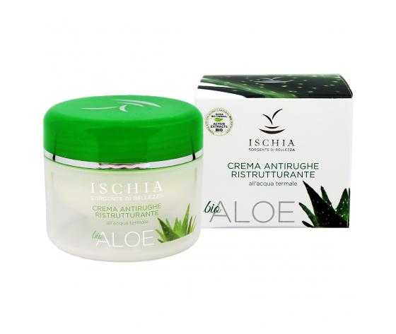 Ischia Sorgente di Bellezza - Crema antirughe ristrutturante Aloe Bio 100 ml