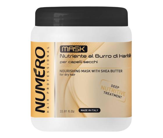 NUMÉRO - MASK NUTRIENTE AL BURRO DI KARITE' 1000 ML