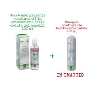 Gocce energizzanti 100 ml + Shampoo Coadiuvante IN OMAGGIO Green Light - RELIVE SCALP WELLNESS