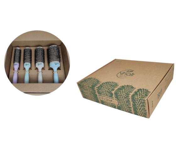 Kit 4 spazzole Nhair BIO brush