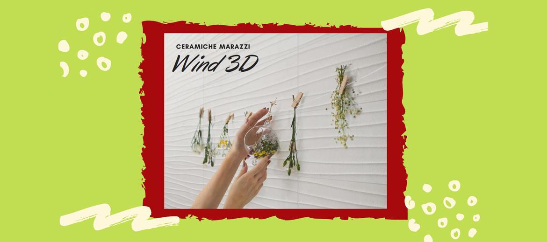 Ceramiche marazzi wind 3d
