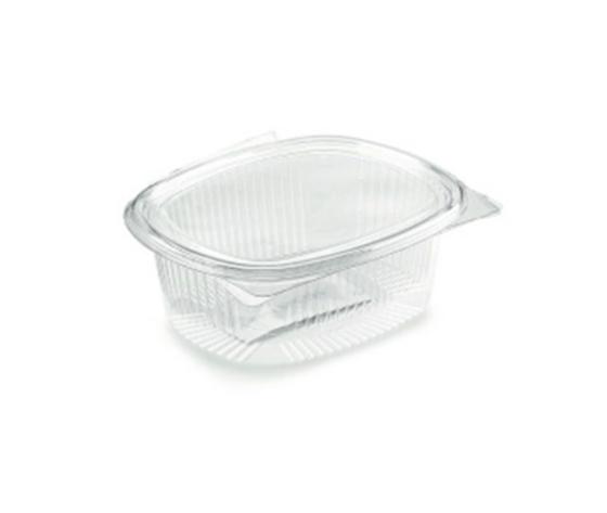 Vaschette ovale con coperchio incernierato