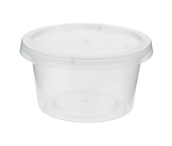 Vaschetta monoporzione con coperchio