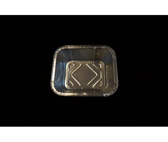 Vassoio alluminio 1 porzione