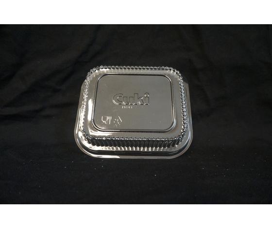 Coperchi per vassoi di alluminio