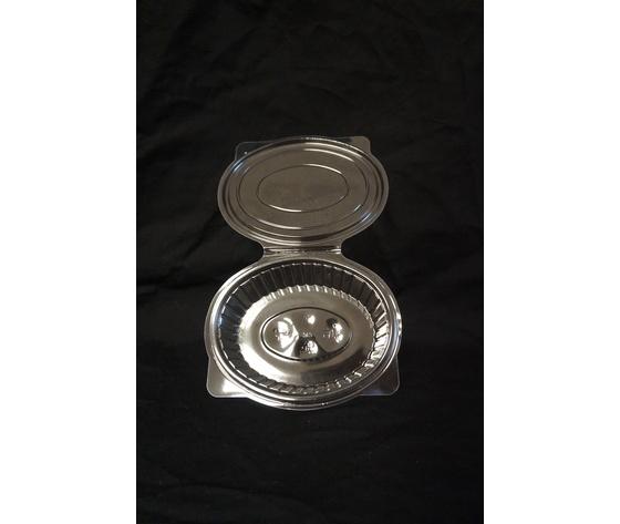 Vaschetta di plastica ovale 250 cc