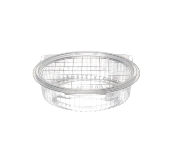 Vaschette di plastica ovali