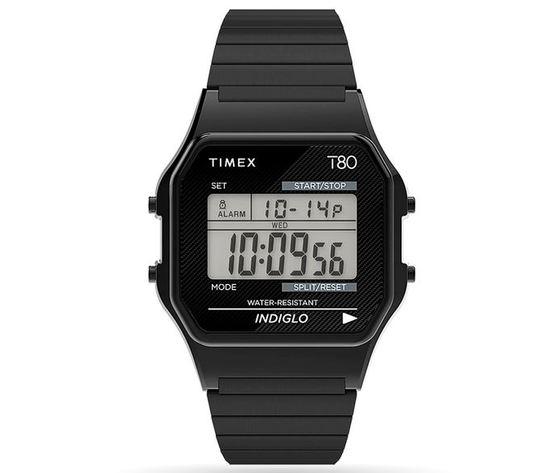 TIMEX T 80 QUARTZ 34 MM NERO TW2R67000U8