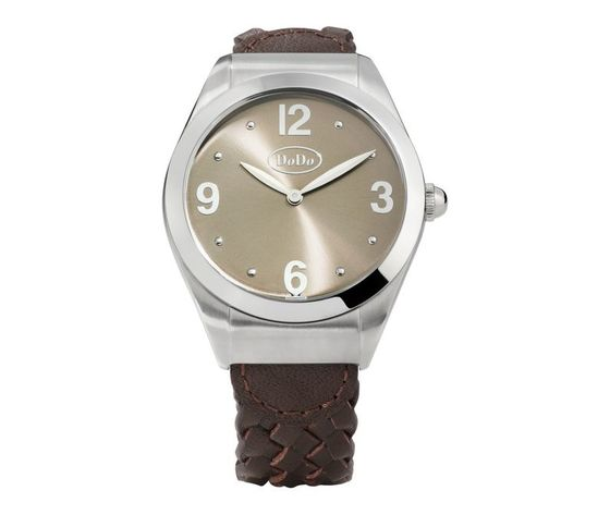 OROLOGIO DODO CHAMPAGNE AND STEEL WATCH