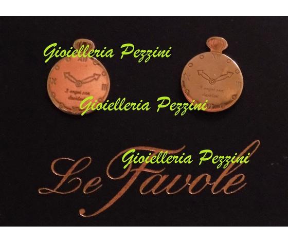 ORECCHINI OROLOGIO CENERENTOLA AG901-51 LE FAVOLE