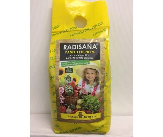 Concime con repellente Bio Radisana orto & frutteto Neem kg 1,5
