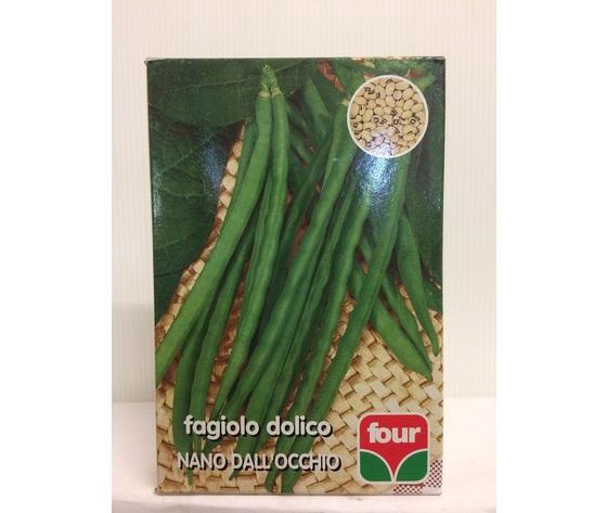 Fagiolo nano Dolico Dall'Occhio Four gr 250