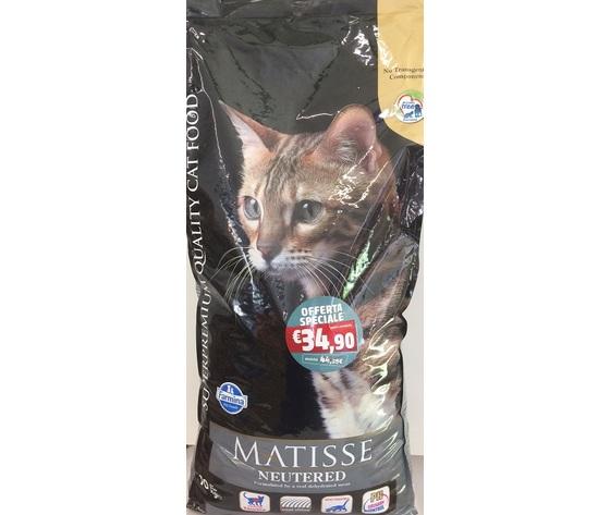 Farmina Matisse Neutered croccantini gatto sterilizzato gusto pollo kg 10