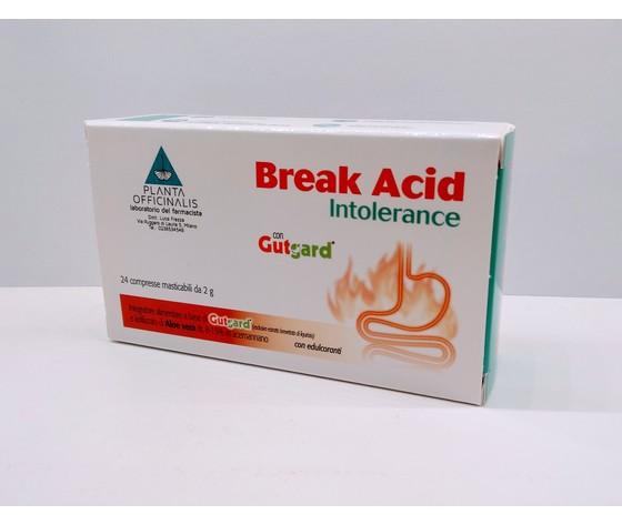 Break Acid Intolerance  24 Compresse Masticabili