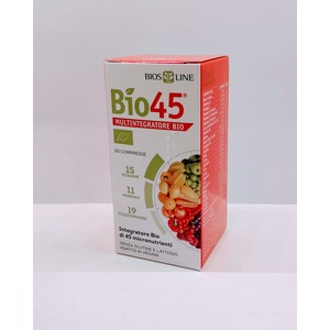 Bio45 Multivitaminico Naturale 50 Compresse