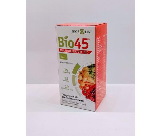 Bio45 Multivitaminico Naturale 50 Compresse