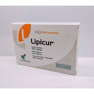 Lipicur 30 Compresse