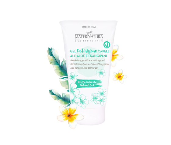 Gel Definizione Capelli all' Aloe e Frangipani 150 ml