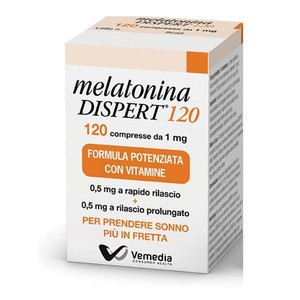 Melatonina Dispert 1 mg  120 Cpr