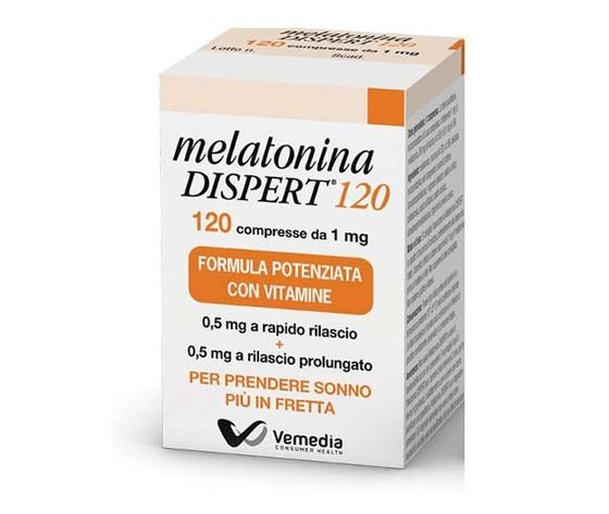 Melatonina Dispert 1 mg  120 Cpr