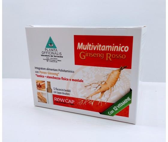 Ginseng Rosso Multivitaminico 12 Flaconcini