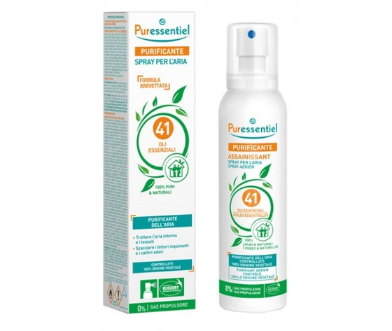 Puressentiel Spray Purificante Aria 41 Oli Essenziali 200 ml