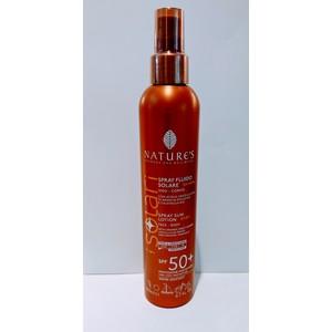 SPRAY FLUIDO SOLARE SPF 50 + BAMBINI NATURE'S 200 ml