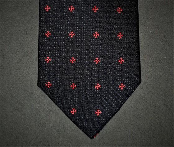 Cravatta logo Croce Templare