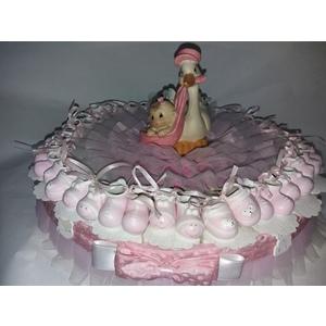 torta scarpine rosa