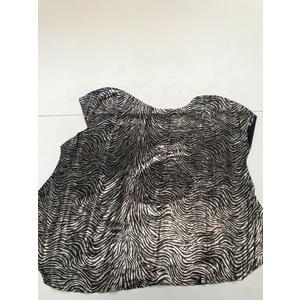 Vitello scamosciato stampa zebra