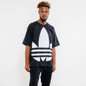 T-shirt Adidas Nero Maxi Logo Uomo Art. FM9904