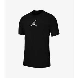 T-shirt Jordan Uomo Nera logo Jumpman Bianco Tee ART. BQ6740 010