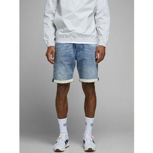 Bermuda Jeans uomo Jack&Jones Shorts Jens Denim con vita elastica indigo art. 12169349
