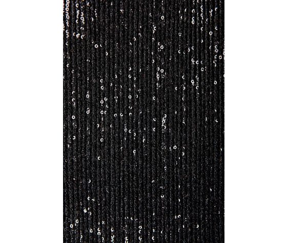 Bikini triangolo nero con inserti paillets cotazur art. ctz0616 nero 3
