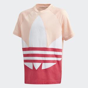 T-shirt Adidas Bambina Rosa con Logo frontale Art. GD2685