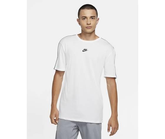 Nike maglia bianca manica corta sportswear cz7825 100