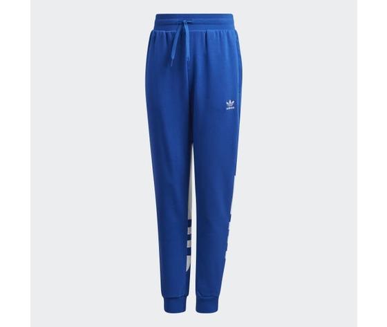 Pantalone adidas in cotone blu ragazzi con elastico in vita art. gd2717
