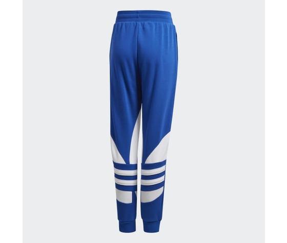 Pantalone adidas in cotone blu ragazzi con elastico in vita art. gd2717 1