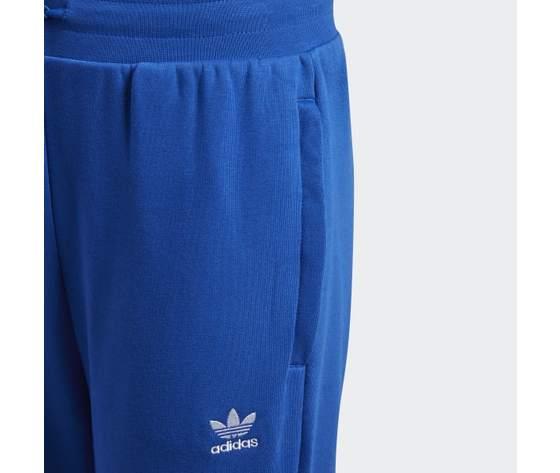 Pantalone adidas in cotone blu ragazzi con elastico in vita art. gd2717 2