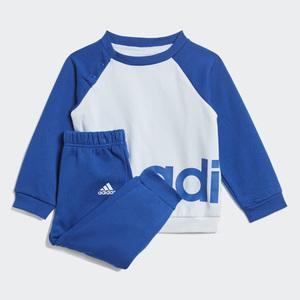 Completo Tuta Bambino Adidas blu Linear Jogger Blu Art. GD6169