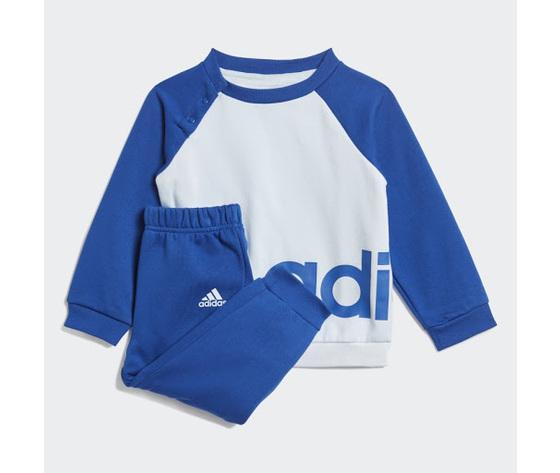 Tuta linear jogger adidas blu bambino  art. gd6169