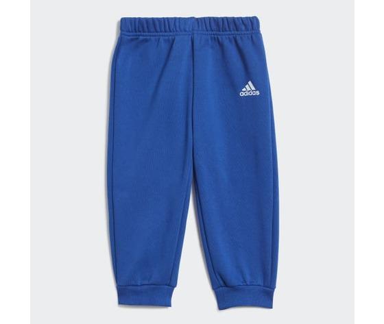 Tuta linear jogger adidas blu bambino  art. gd6169 3