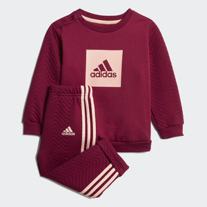 Completo Tuta Adidas Bordeaux Bordò Bambina Art. GD9999